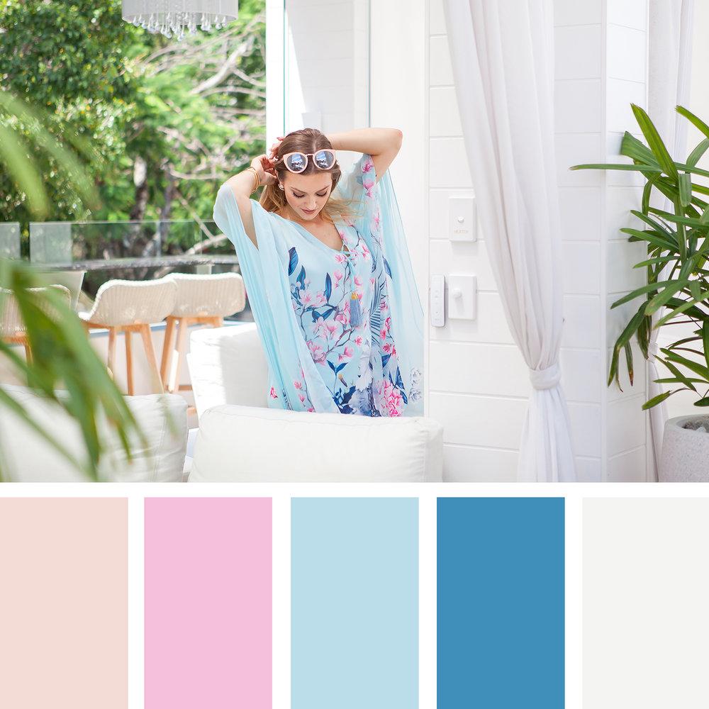 Pastel Summer moodboard