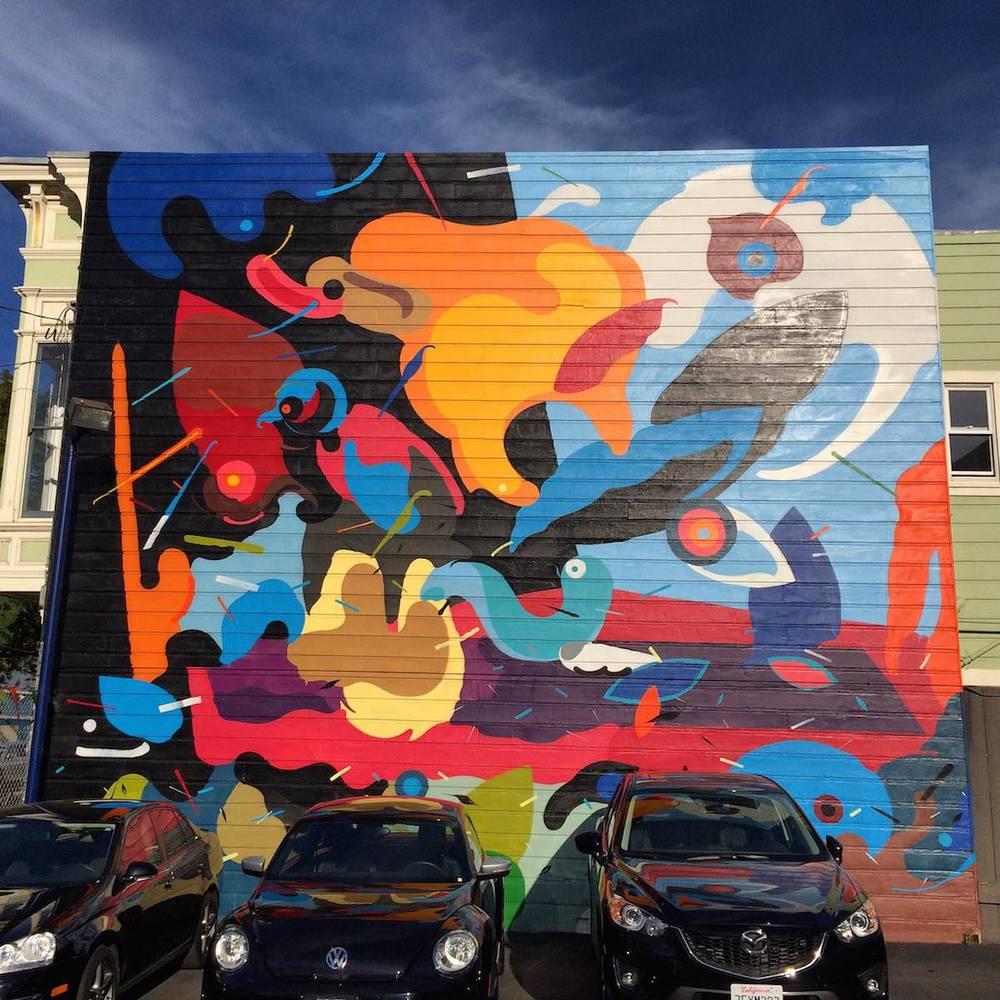 The Best Cities for Graffiti & Street Art - San Francisco