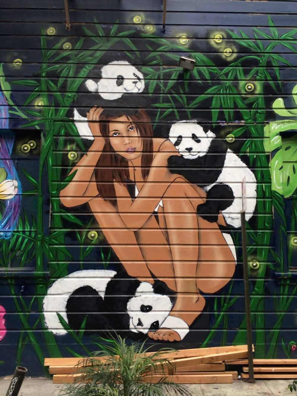 Amanda Lynn Graffiti Mural San Francisco 3
