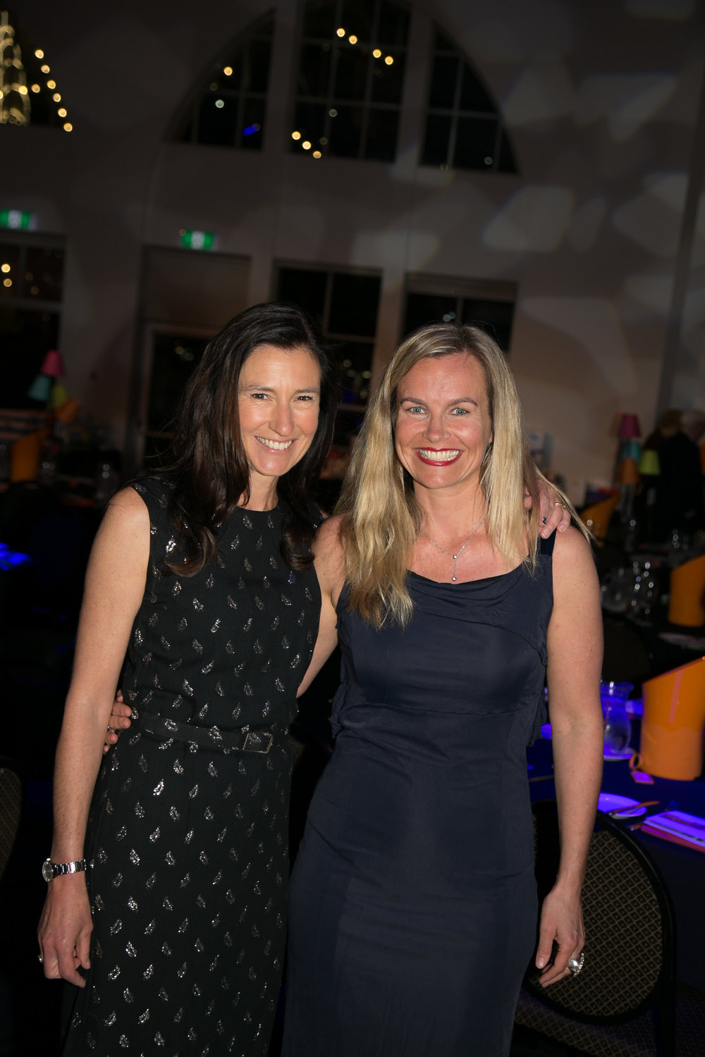 Keri & co-founder, Cass fundraising in 2016.