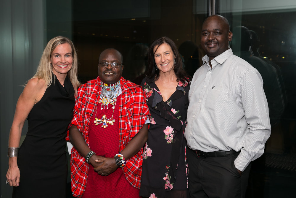 In 2017, with two of the team from Kenya visiting Sydney to help spread the word.
