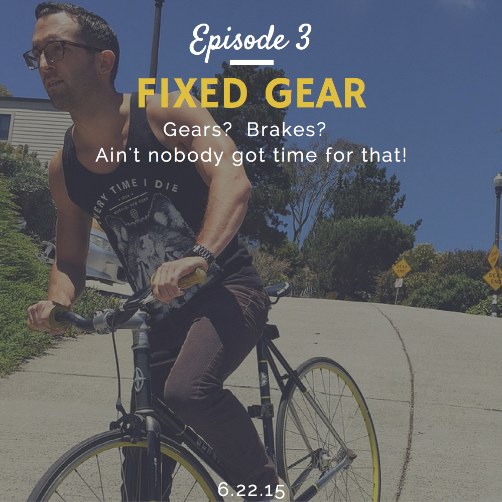 What is fixed gear interview with Sean Eric Martin