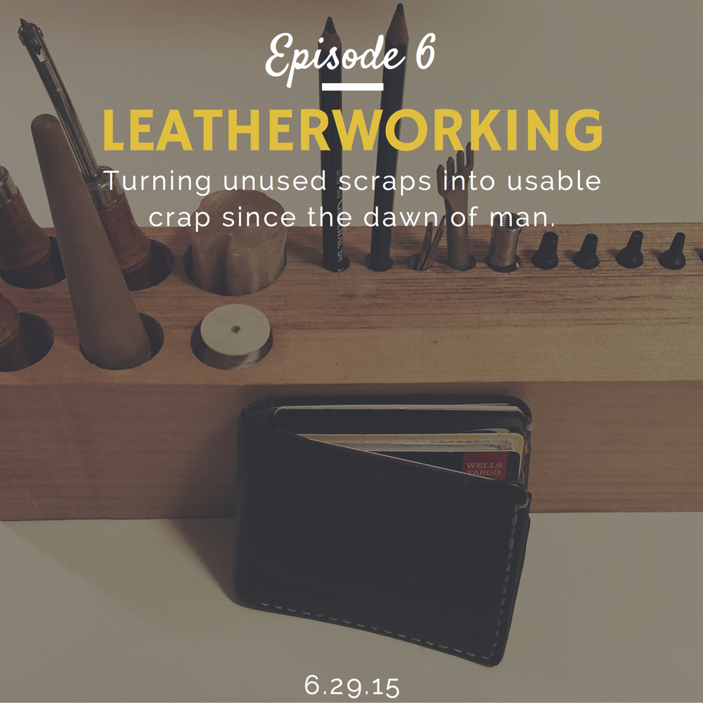 How to start leatherworking interview with Mike Steinberger