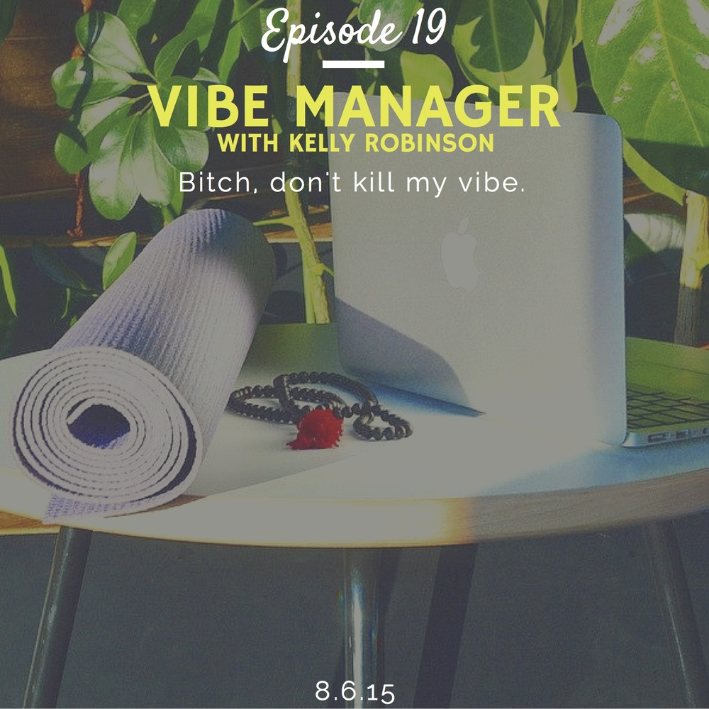 What is a vibe manager interview with kelly robinson