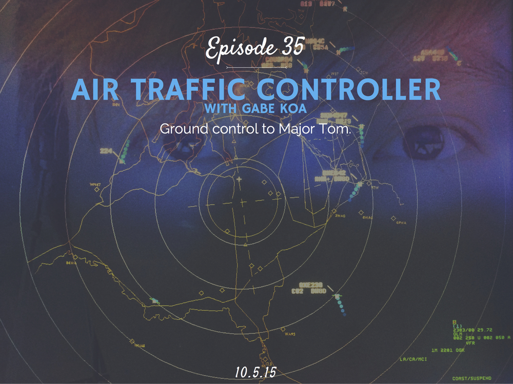 What is it like to be an air traffic controller and how to become one interview with Gabe Koa