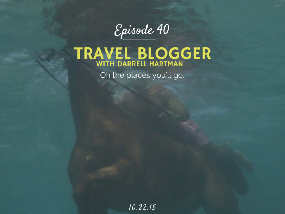 How to become a successful travel blogger interview with Jungles in Paris founder Darrell Hartman