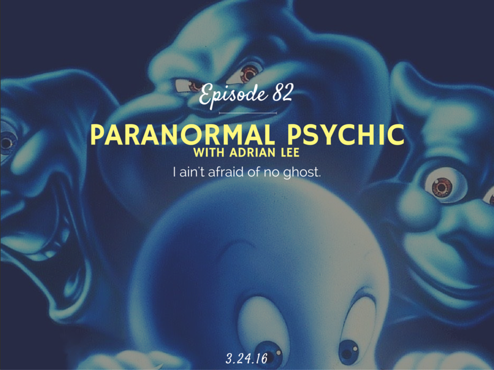 How to become a paranormal psychic interview with adrian lee