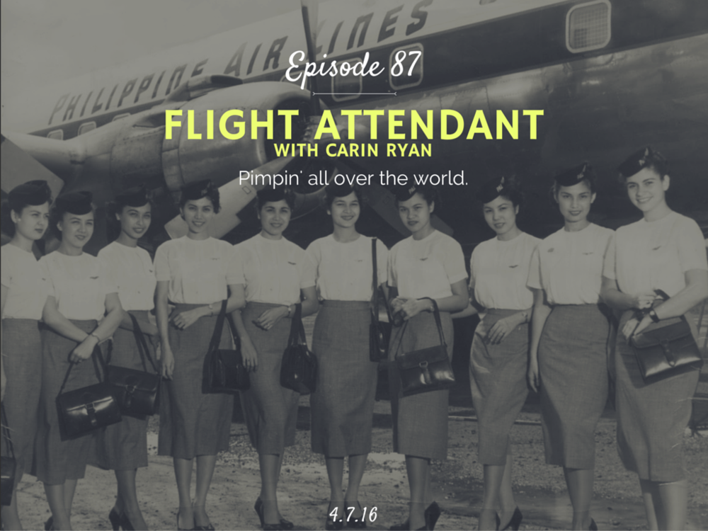 What is it like to be a flight attendant interview with Carin Ryan