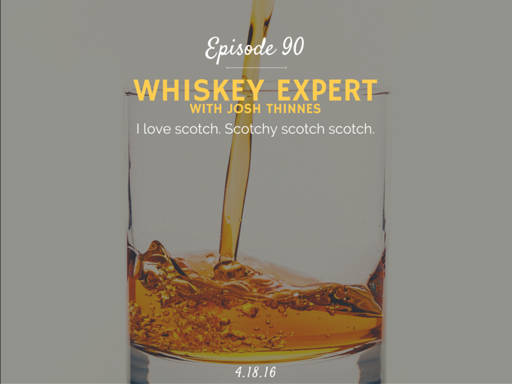 Learn all about whiskey with whiskey expert Josh Thinnes interview