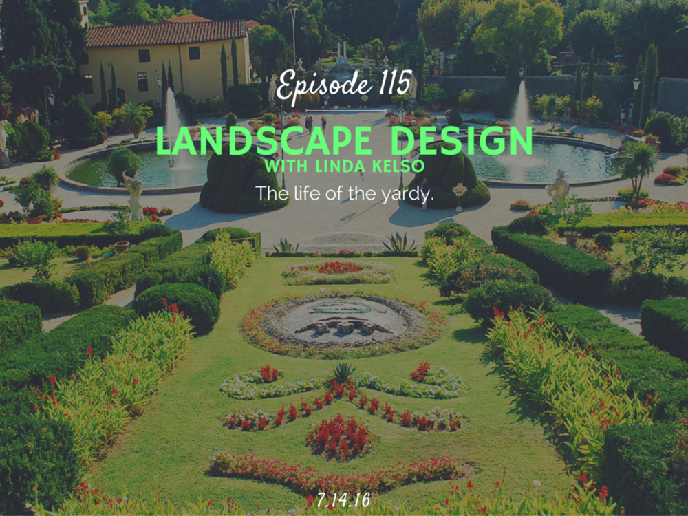 how to become a landscape designer interview - Landscape Design (with Linda Kelso) -Half Hour Intern Podcast