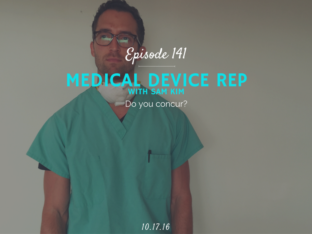 how to become a medical device rep