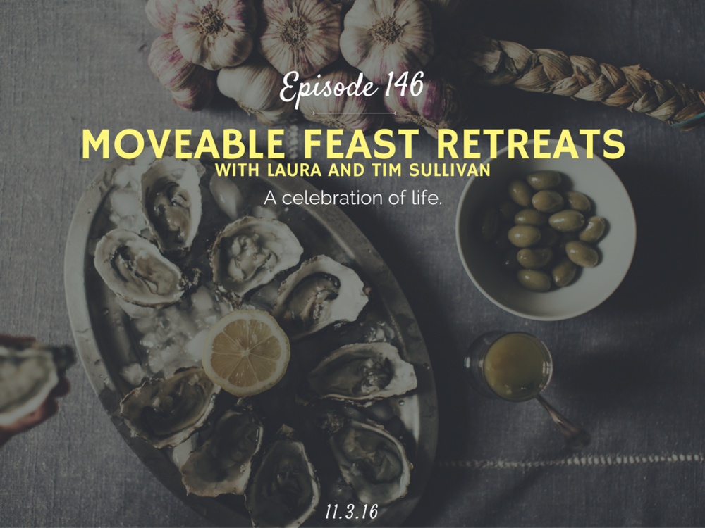 interview with the founders of moveable feast retreats