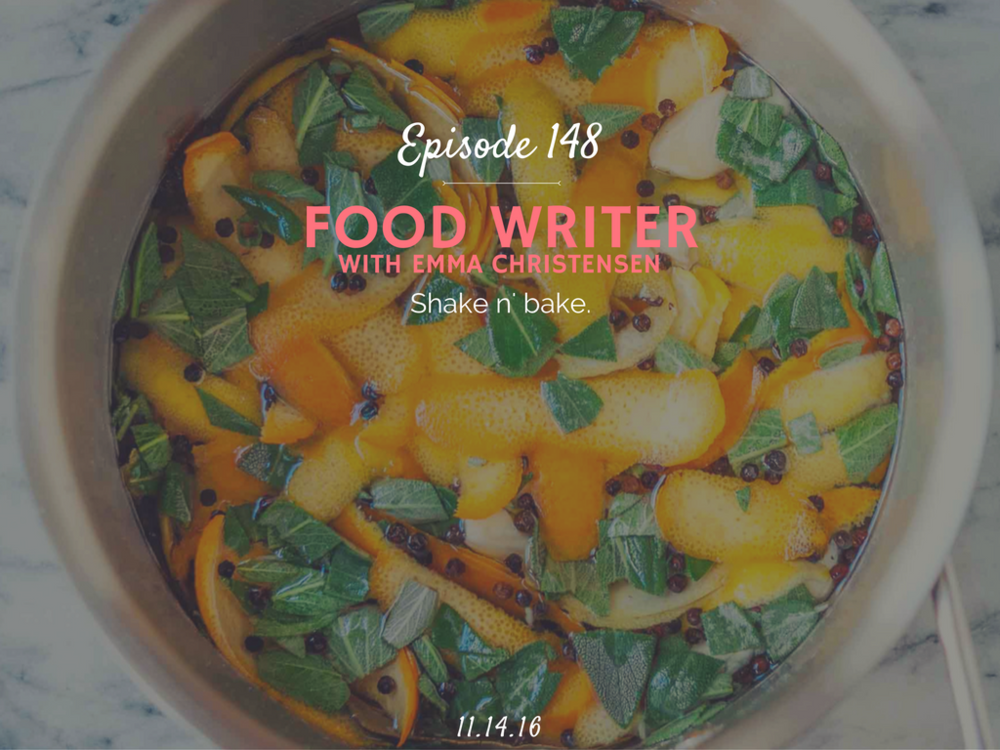 how to become a food writer interview with Emma Christensen