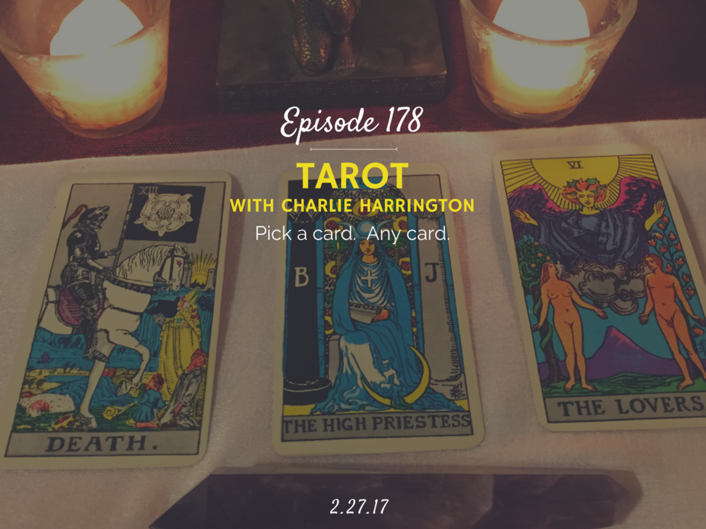 how to become a tarot reader interview with charlie harrington