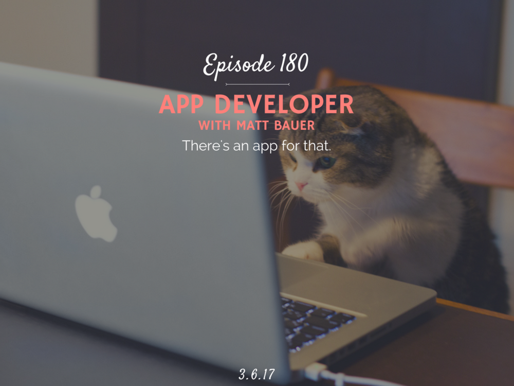 how to develop your own app interview