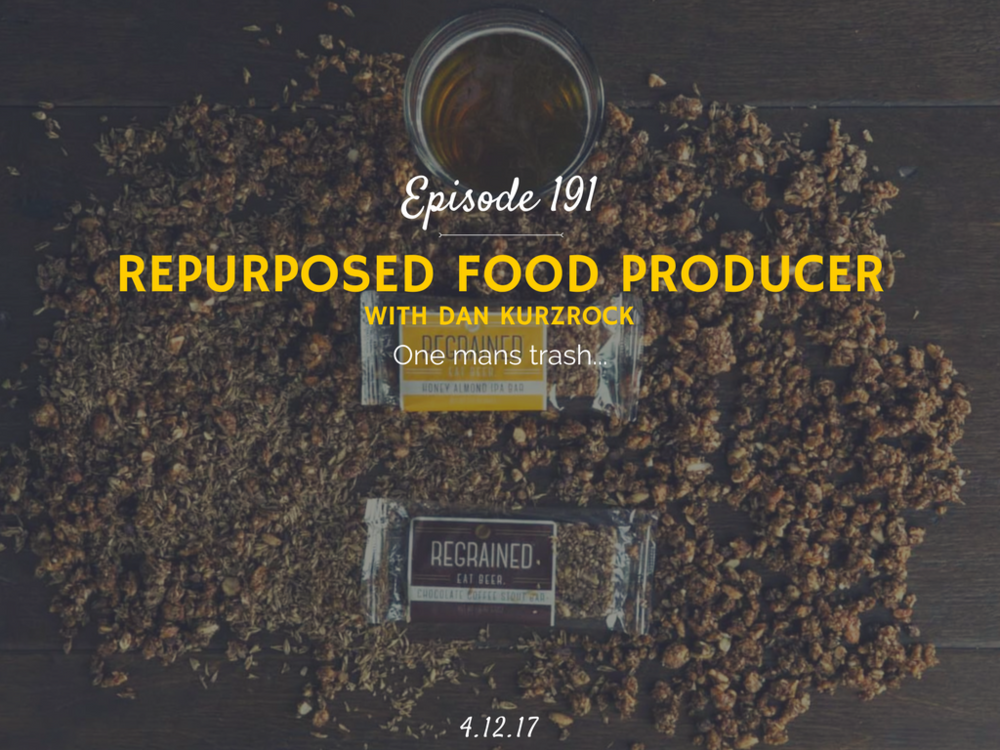 how to make your own food startup podcast interview