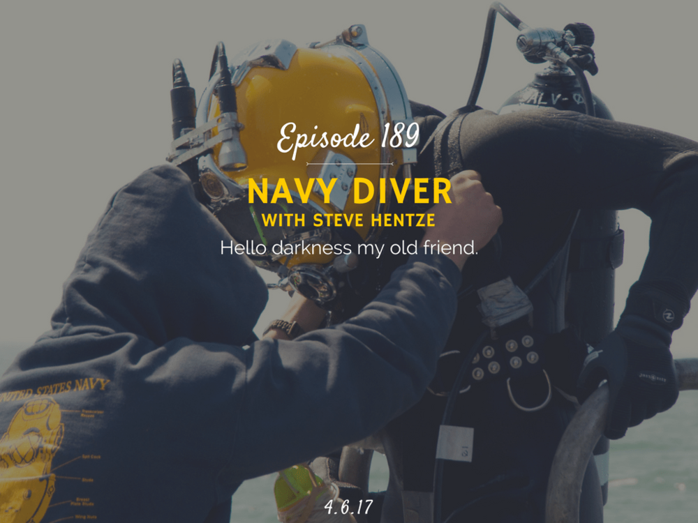 what is it like to be a navy diver podcast interview