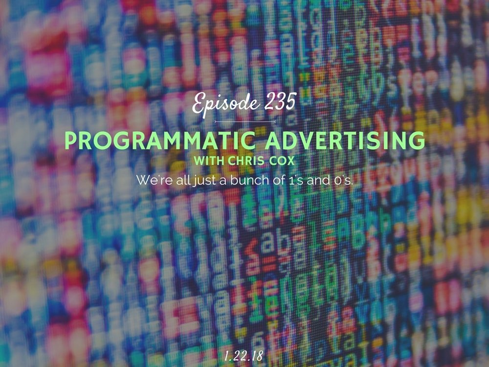 programmatic advertising interview with chris cox
