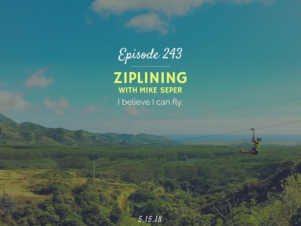 podcast interview about ziplining