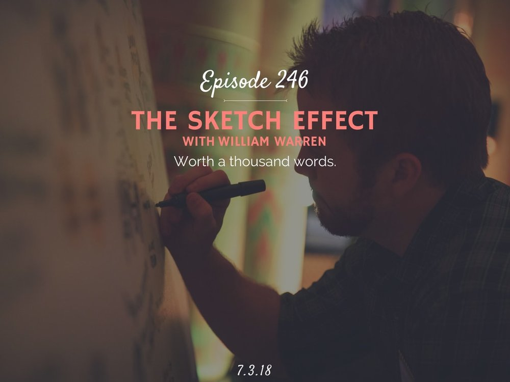 Podcast Interveiw with The Sketch Effect founder