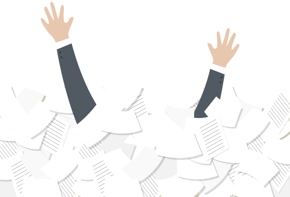 Overload of documents