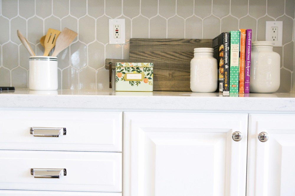 Gray Backsplash || Studio McGee