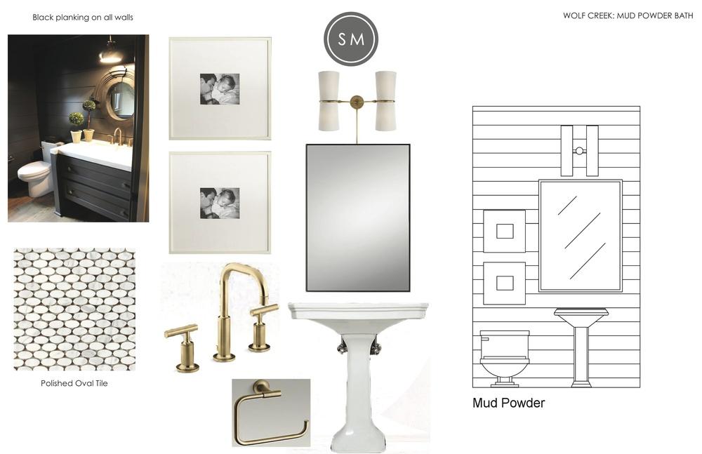 Modern Mountain Home Bathroom - Studio McGee