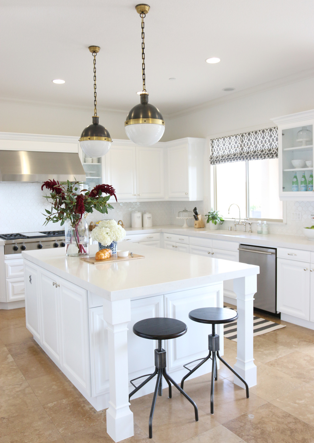 San clemente kitchen makeover before after studio mcgee - Studio mcgee ...