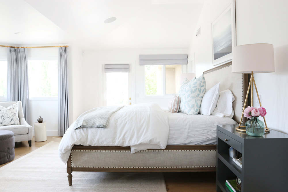 Southern California master bedroom makeover by Studio McGee