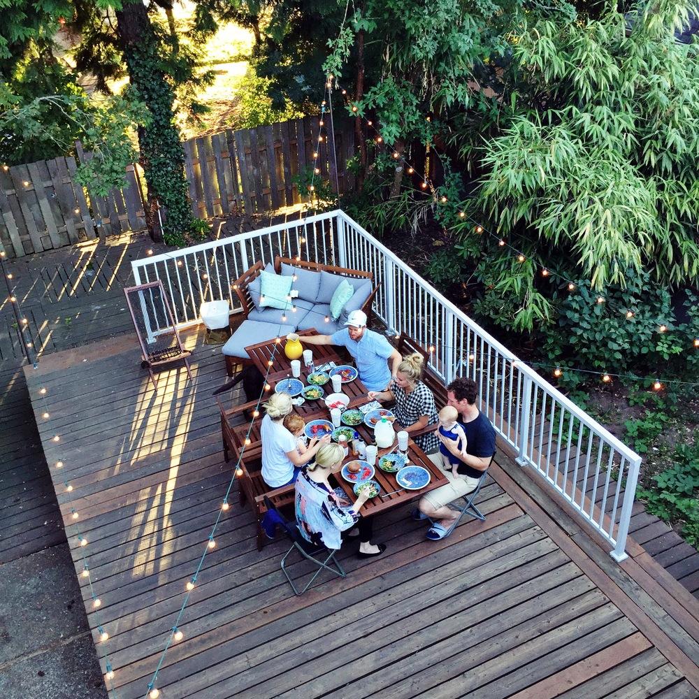 Shea's Backyard Birthday Celebration