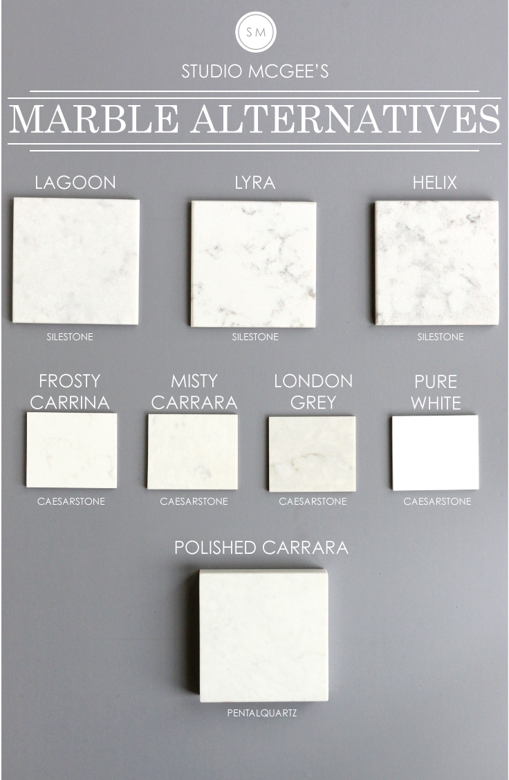 Excellent Marble Alternatives — STUDIO MCGEE PT33