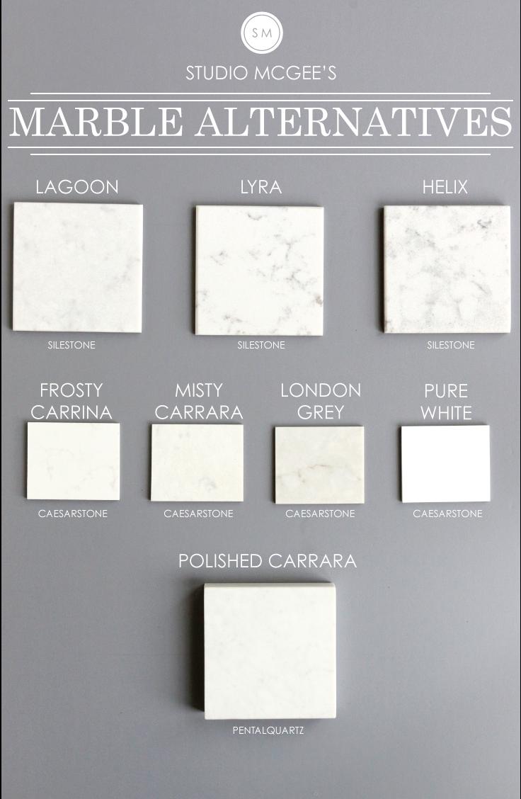 Marble Alternatives Studio Mcgee