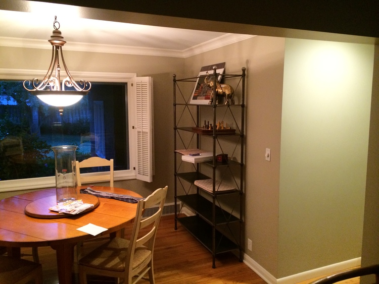 and the after - Dining Room Remodel
