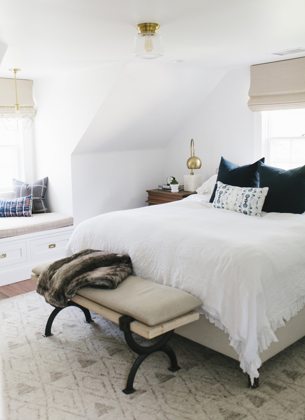 attic bedroom and bathroom ideas - Lynwood Remodel Master Bedroom and Bath — STUDIO MCGEE