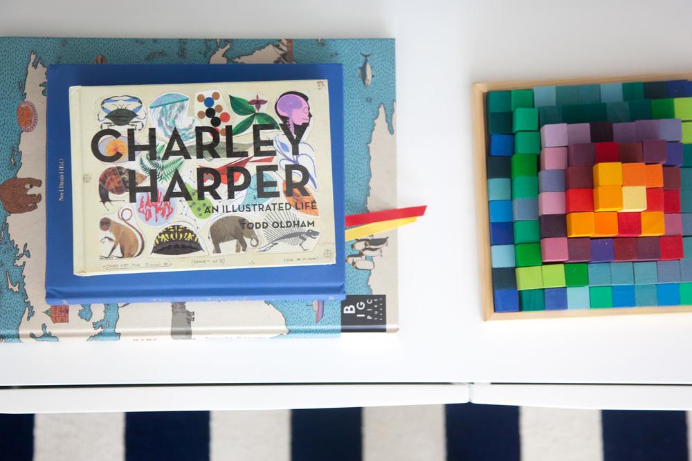 Child's activity room wall decor