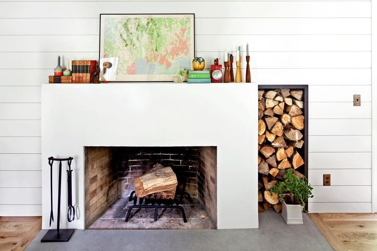 4 elements to a perfectly styled mantel studio mcgee - Como decorar un salon con chimenea ...