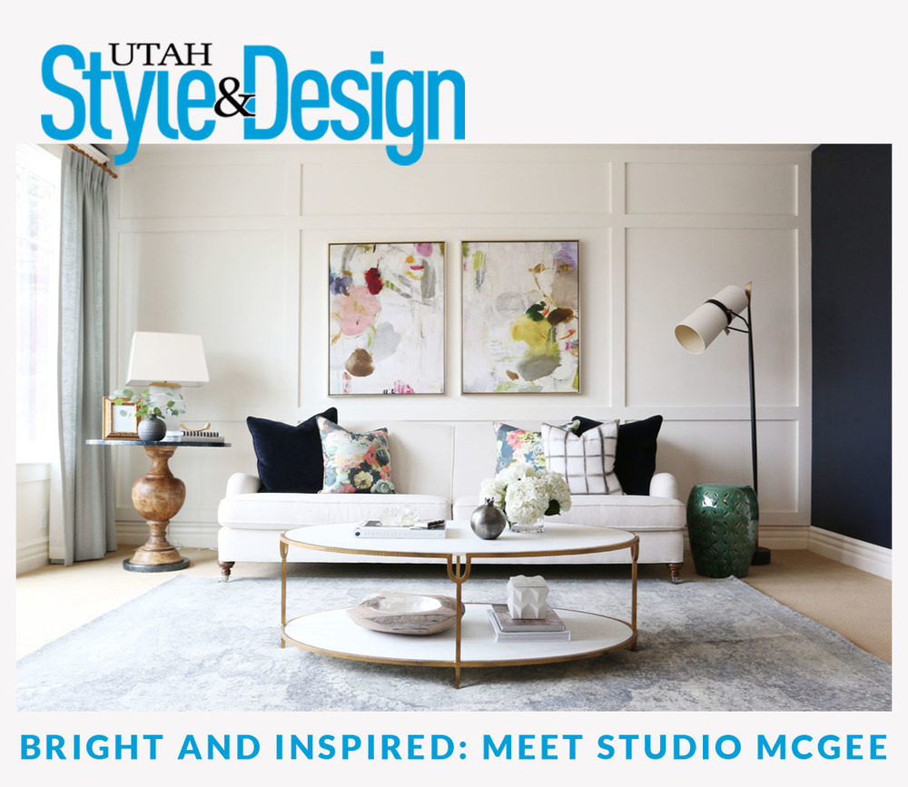 Utah style design feature studio mcgee Home decor stores utah county