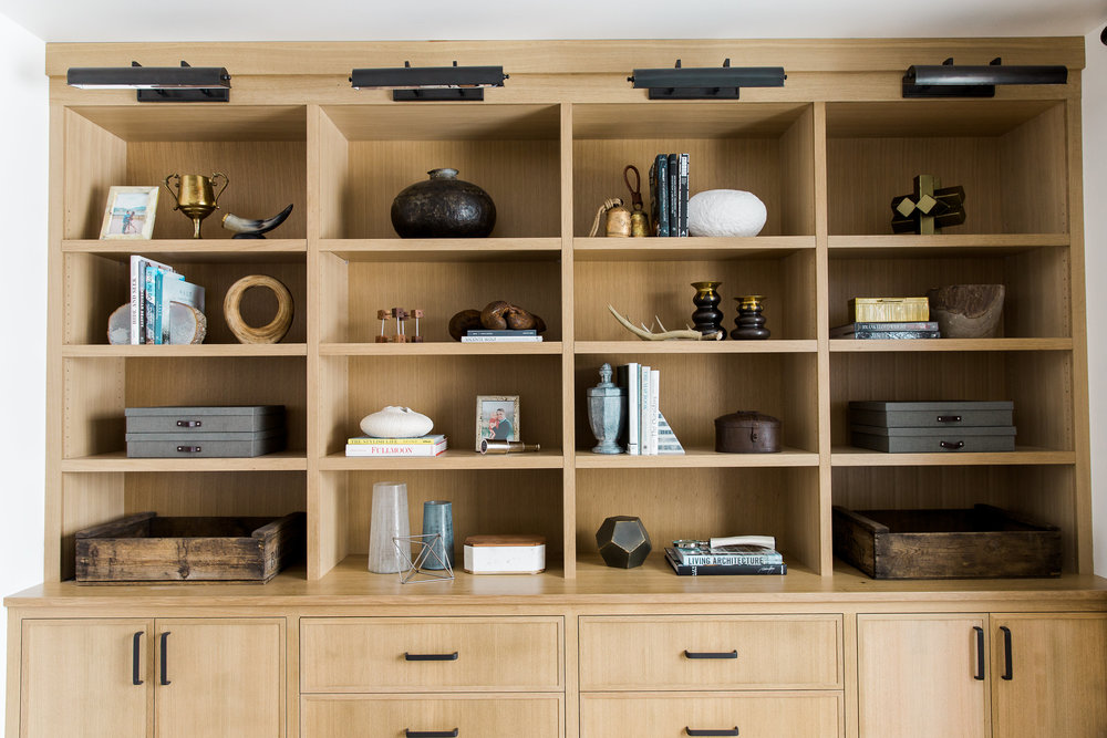 Rift Sawn Oak Built-ins || Studio McGee