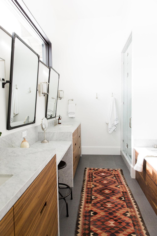 Modern mountain home studio mcgee - Bathroom design studio ...