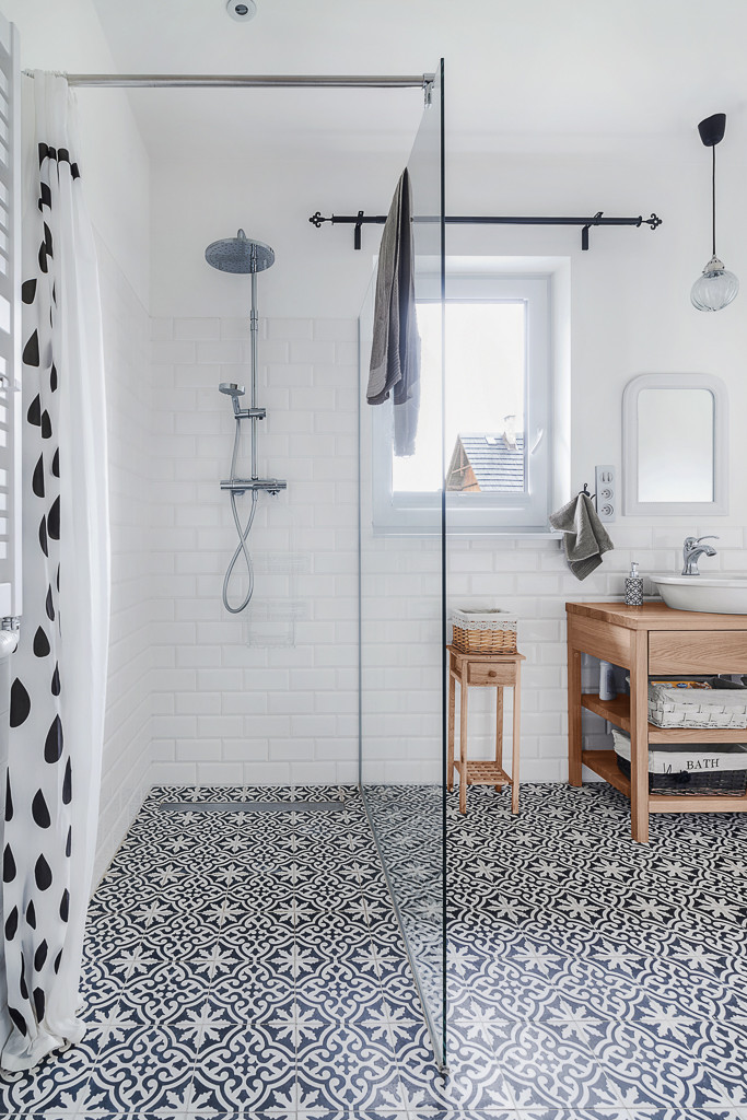 Exceptional Black And White Floor Tile Part - 7: Studio McGee | Save Or Splurge: Floor Tile