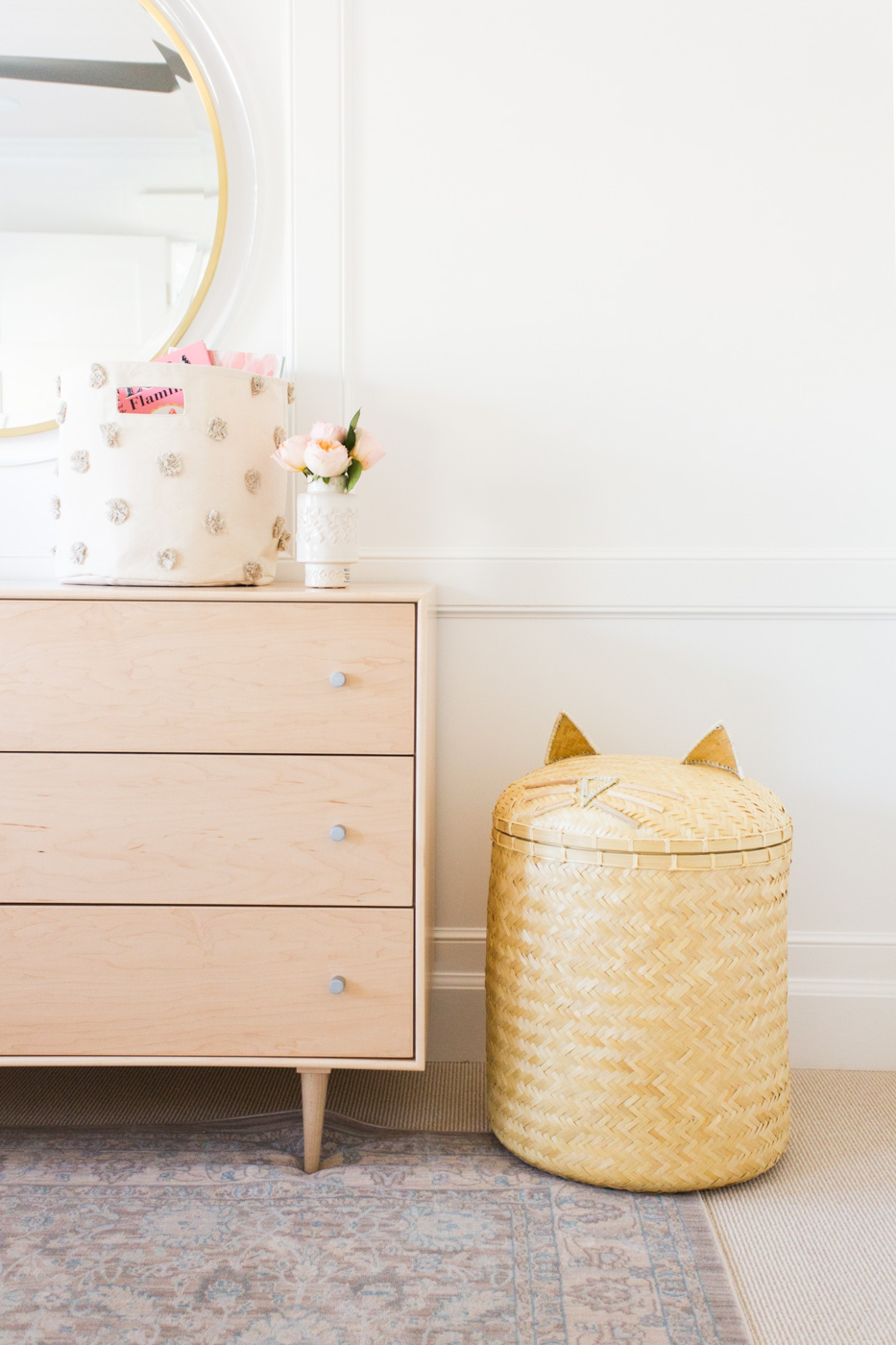 Kitty Cat Hamper || Studio McGee