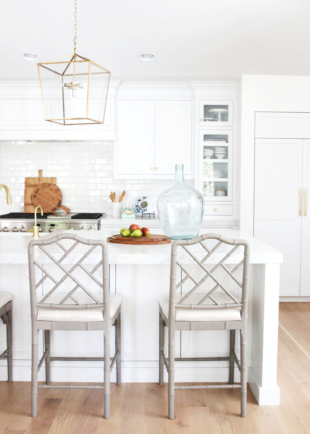 Dreaming of a White Kitchen | Sea Green Designs LLC