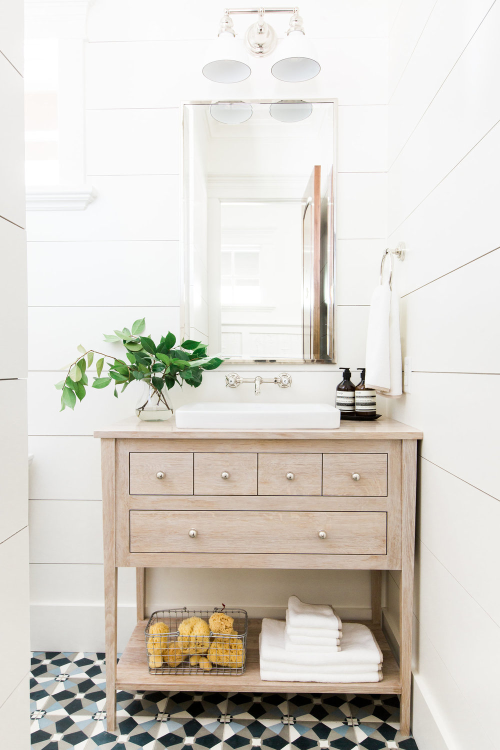 Wide+shiplap+planks,+bleached+oak+vanity+and+cement+tile+floors+||+Studio+McGee.jpg