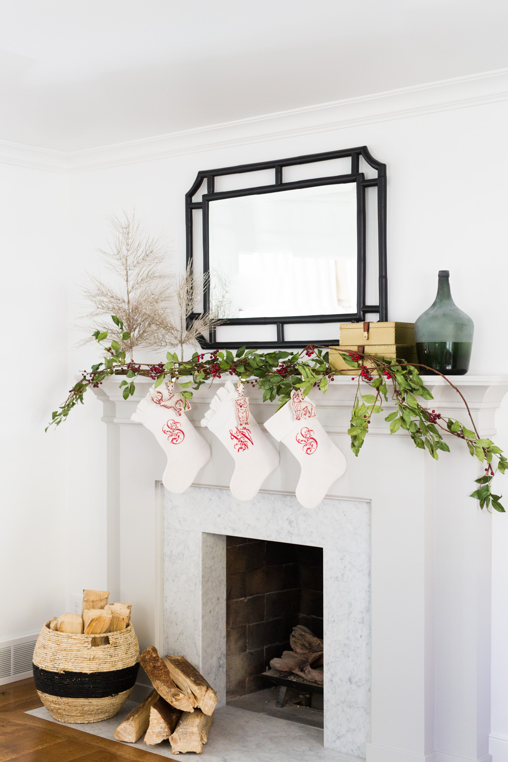 Mantel Styling for the Holidays