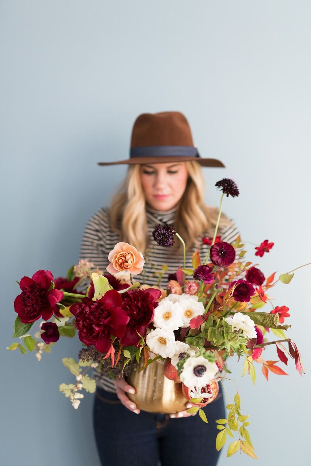 Holiday Floral Arrangement How To - Studio McGee