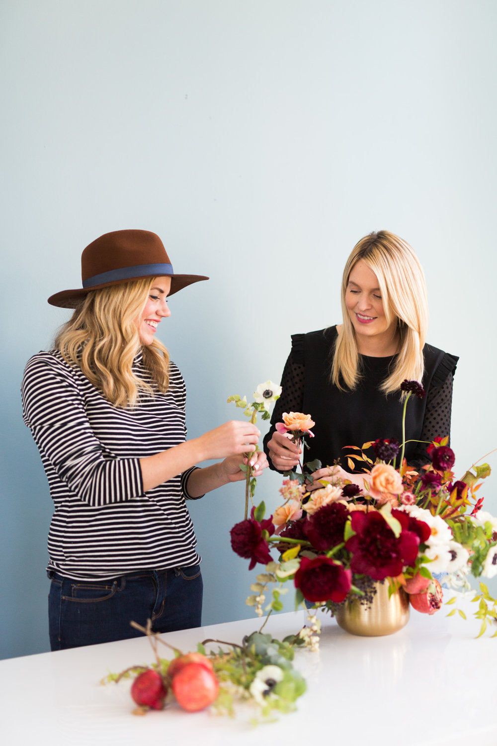 How to Create a Holiday Floral Arrangement