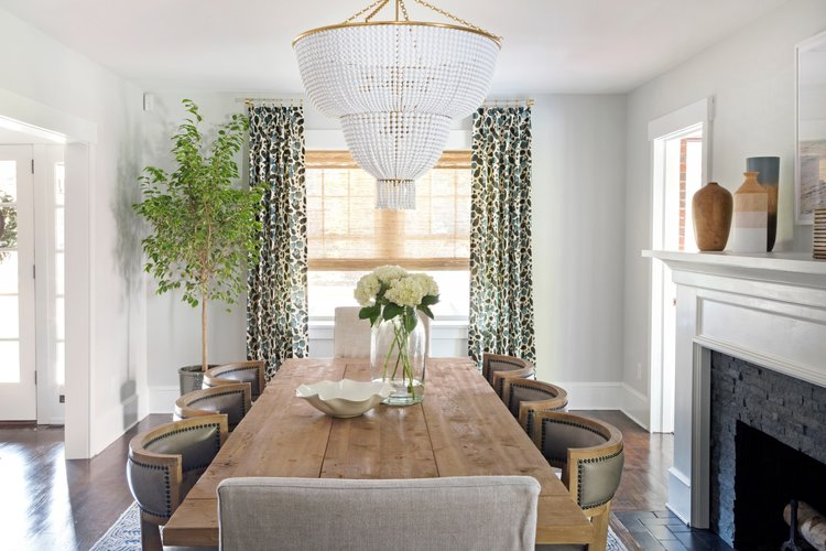 In A Dining Room Statement Chandelier Is Always Great Place To Start Not Only Are Fixtures Functional But They Work As Focal Point