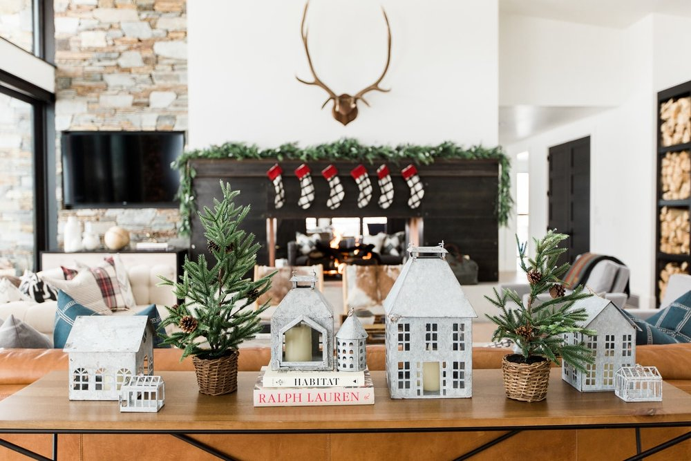 Holiday Table Display