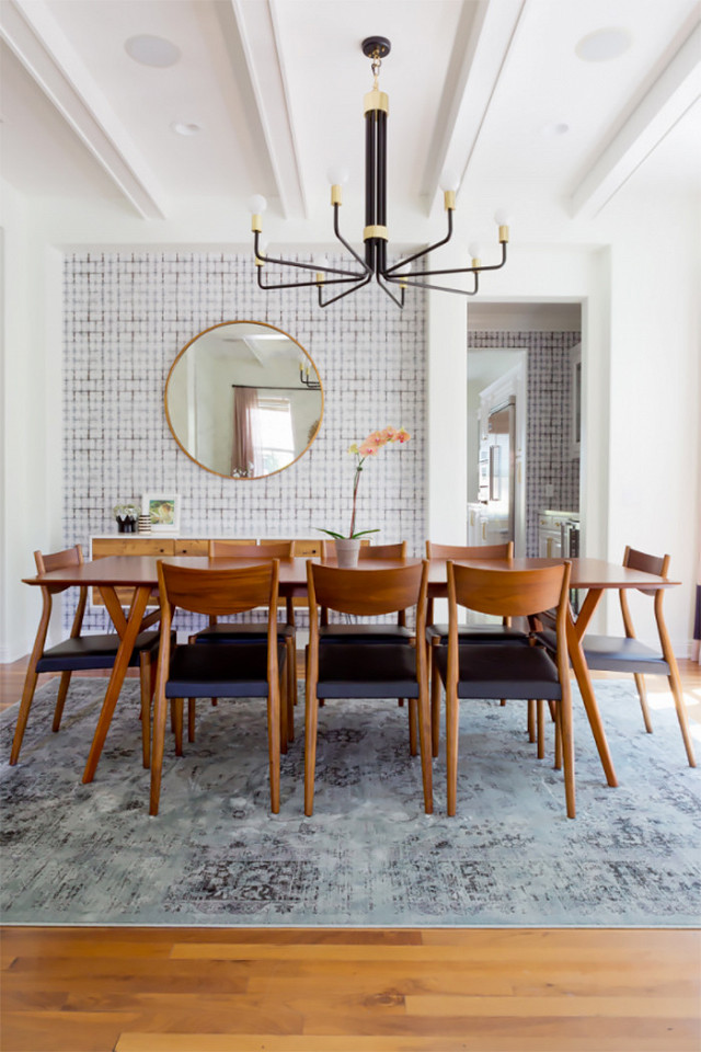 Modern Dining Room Mirrors