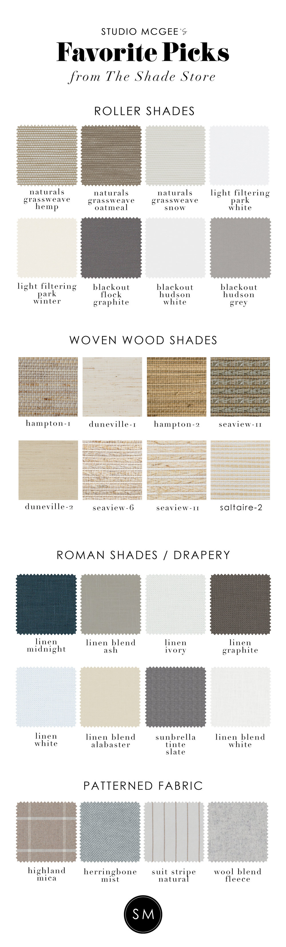 Our Favorite Window Treatments from The Shade Store